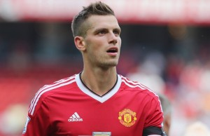MANCHESTER, ENGLAND - AUGUST 08:  Morgan Schneiderlin of Manchester United walks off after the Barclays Premier League match between Manchester United and Tottenham Hotspur at Old Trafford on 8 August 2015 in Manchester, England.  (Photo by Tom Purslow/Man Utd via Getty Images)