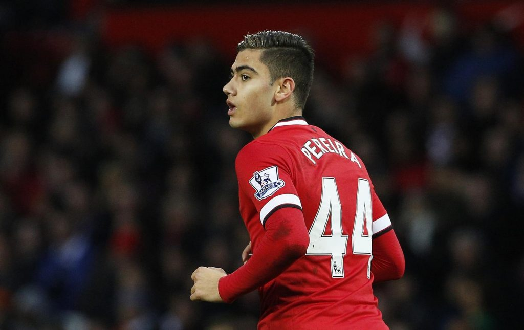 Manchester United midfielder Andreas Pereira has agreed to join Lazio on loan