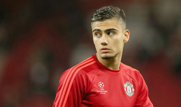 Andreas Pereira on his way out