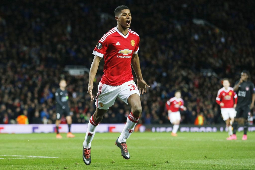 Marcus Rashford has the admiration and support of Sir Alex Ferguson in his fight against food poverty in Britain. (GETTY Images)
