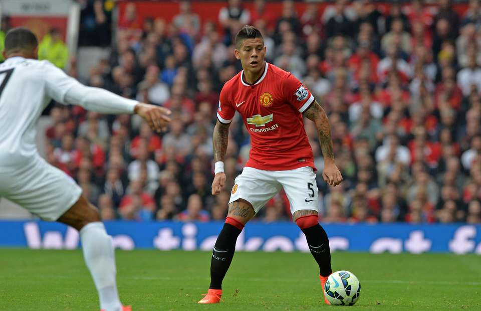Marcos Rojo left for Estudiantes in January