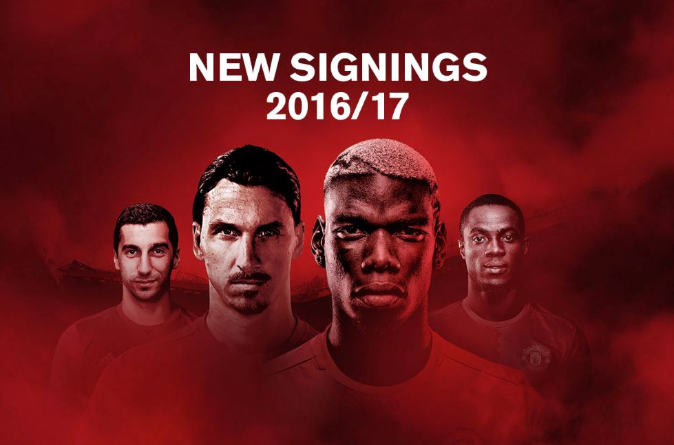 United signings