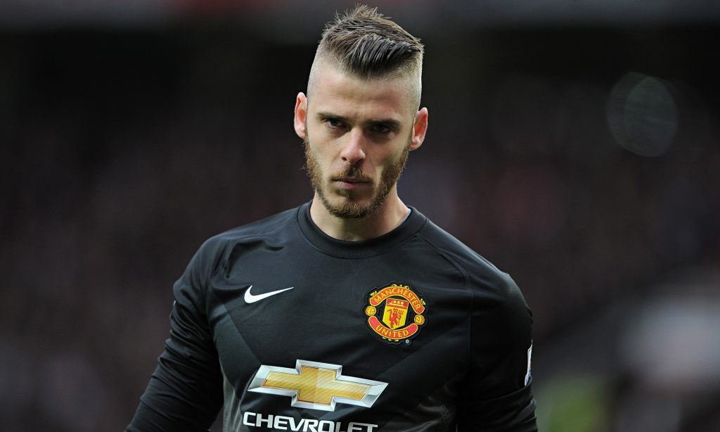 De gea of Manchester United