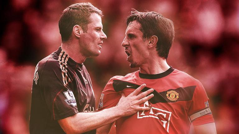 Neville Carragher Manchester United