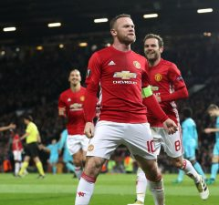 Wayne Rooney is a doubt for Manchester United's FA Cup clash with Blackburn.