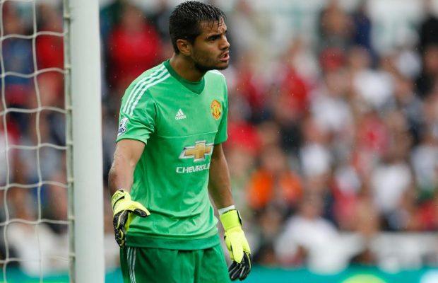 Sergio Romero of Manchester United