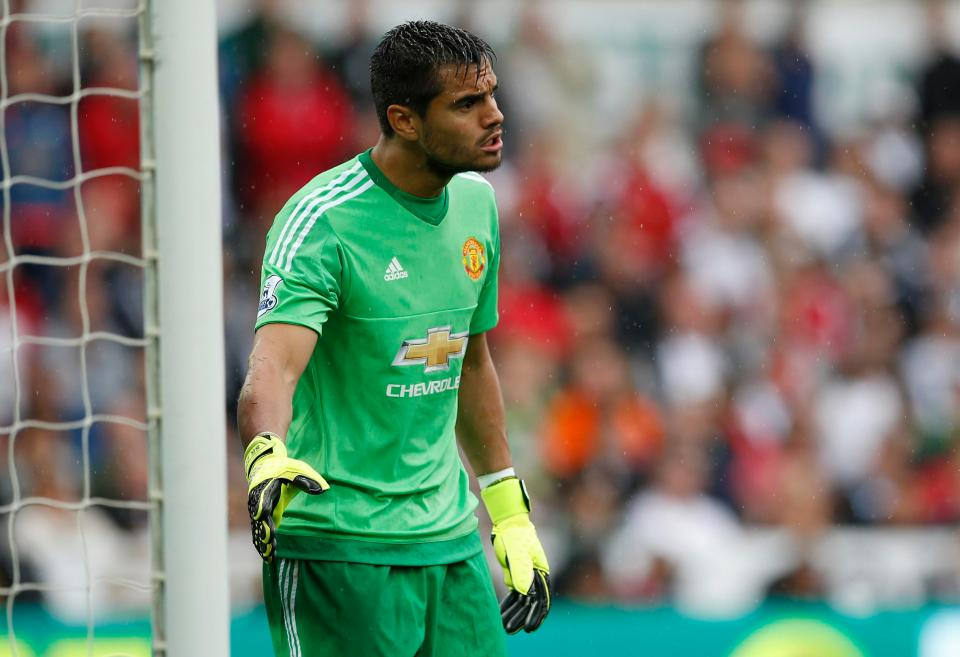 Dropping de Gea will see Romero don the gloves for two key Premier League matchups