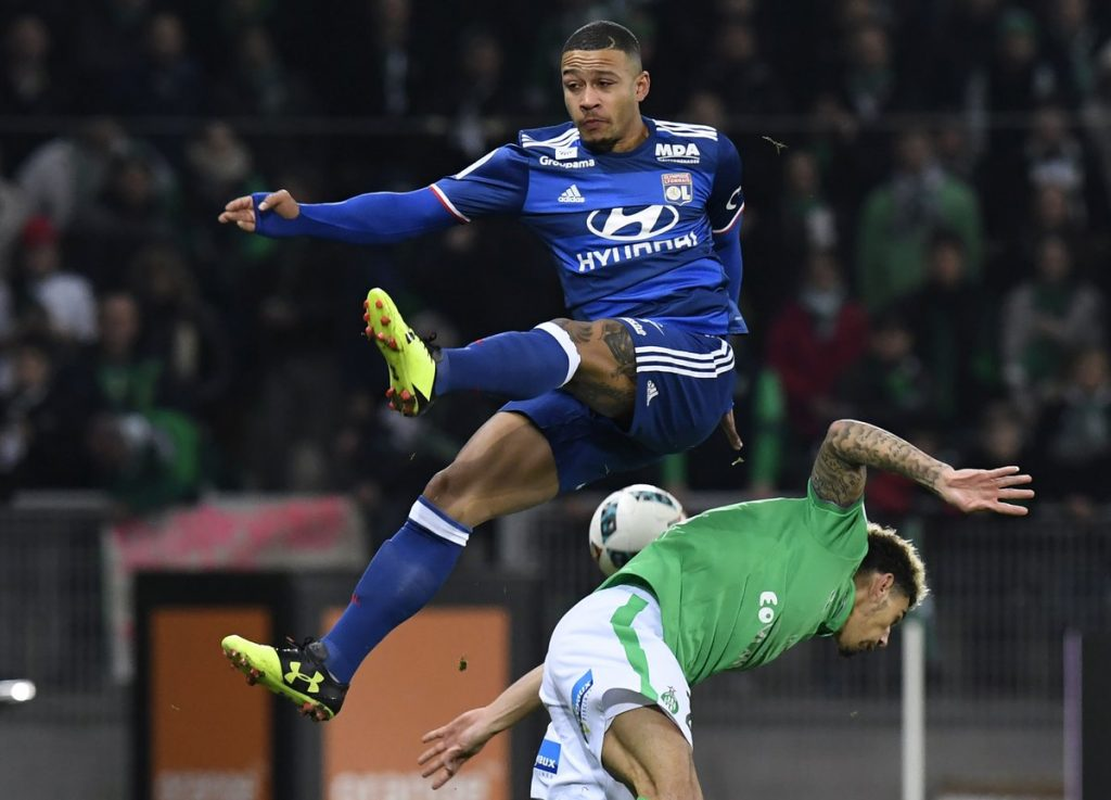 Depay has been instrumental at Lyon