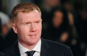 Former Manchester United player Paul Scholes