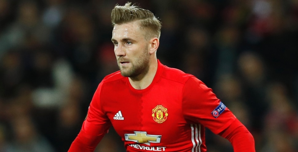 Luke Shaw of Manchester United