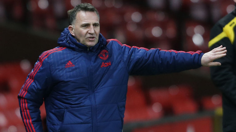Warren Joyce was Manchester United reserves manager from 2010-16.