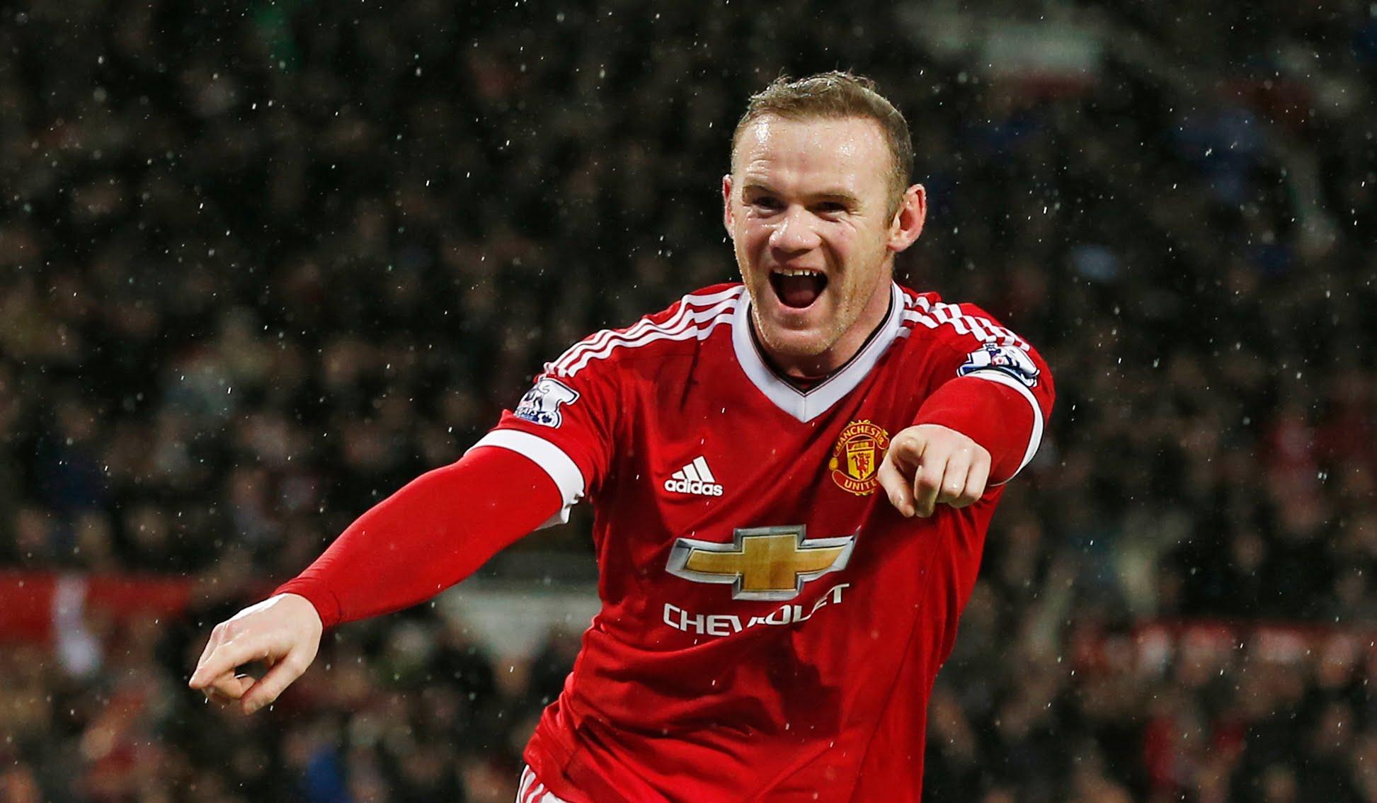07ca4a73cc6 Wayne Rooney. Manchester United ...