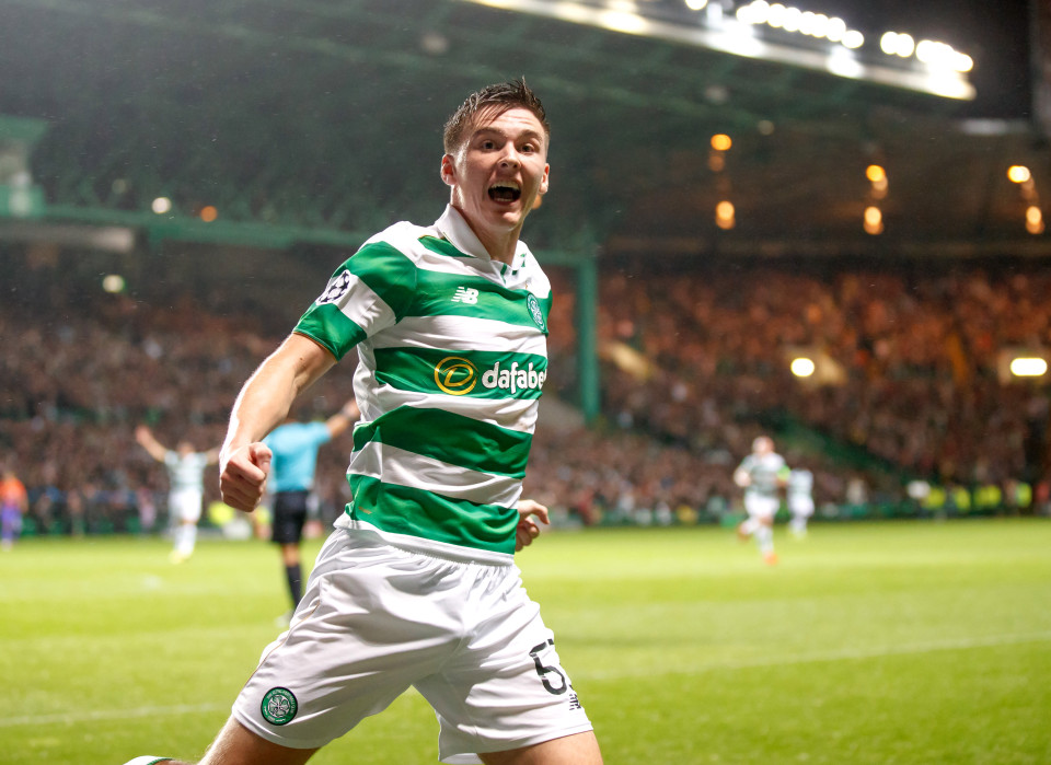 Kieran Tierney is a Manchester United target