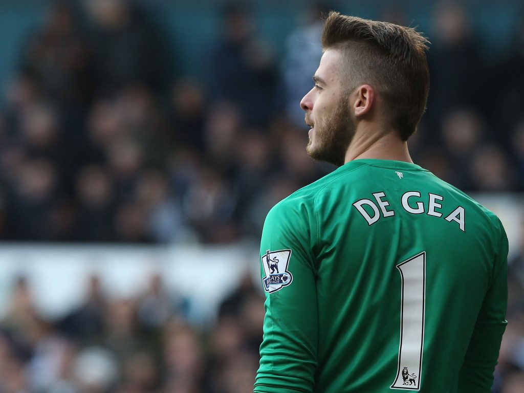 David de Gea of Manchester United could be dropepd for the reminder of the Premier League season