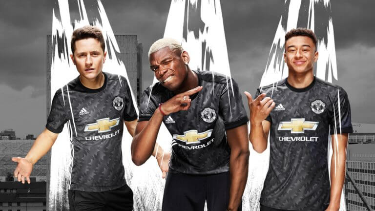 Manchester United's new, iconic 2017/18 away kit