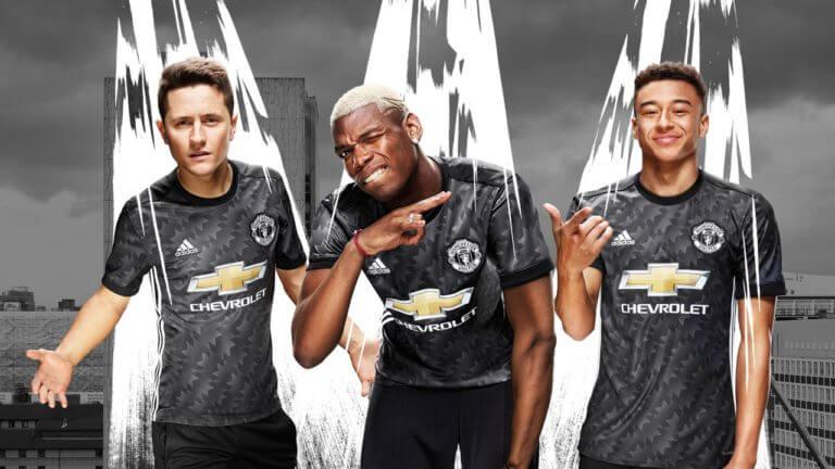 Manchester United Away Kit 2017/18