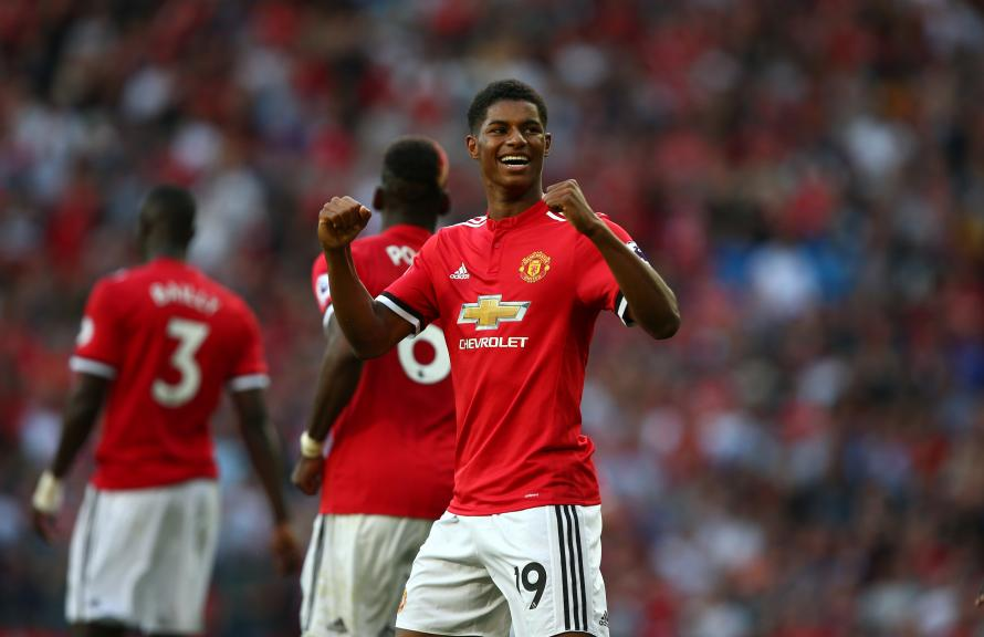Marcus Rashford is United's leading goalscorer this season