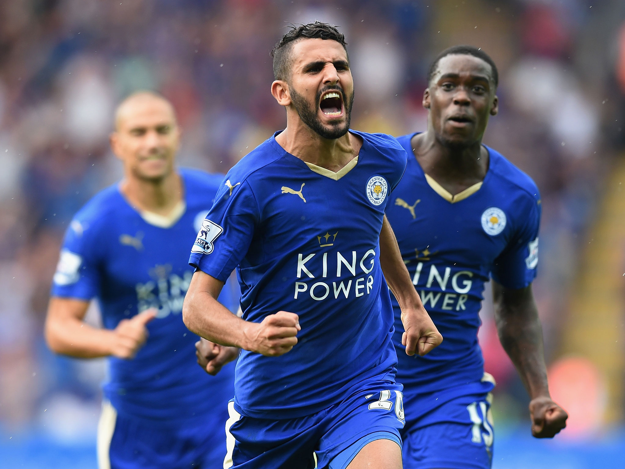Jose Mourinho wants to bring Riyad Mahrez to Manchester United