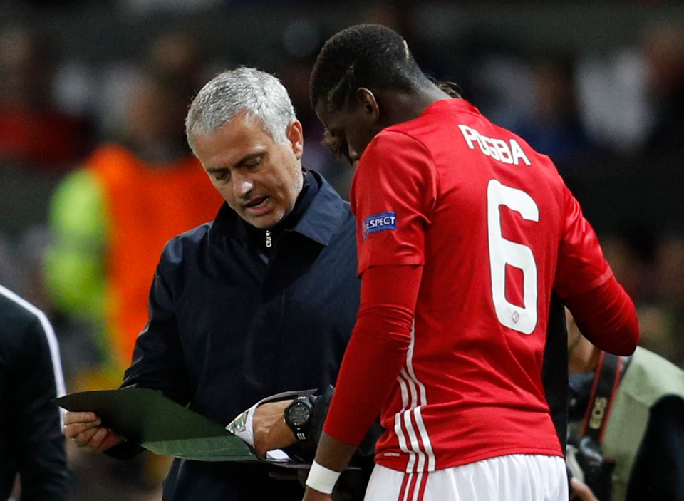 Paul Pogba to have showdown talks about Mourinho this week