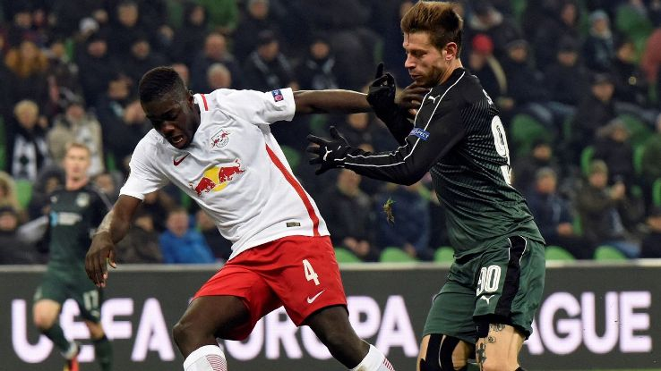 Upamecano has been on Manchester United's radar