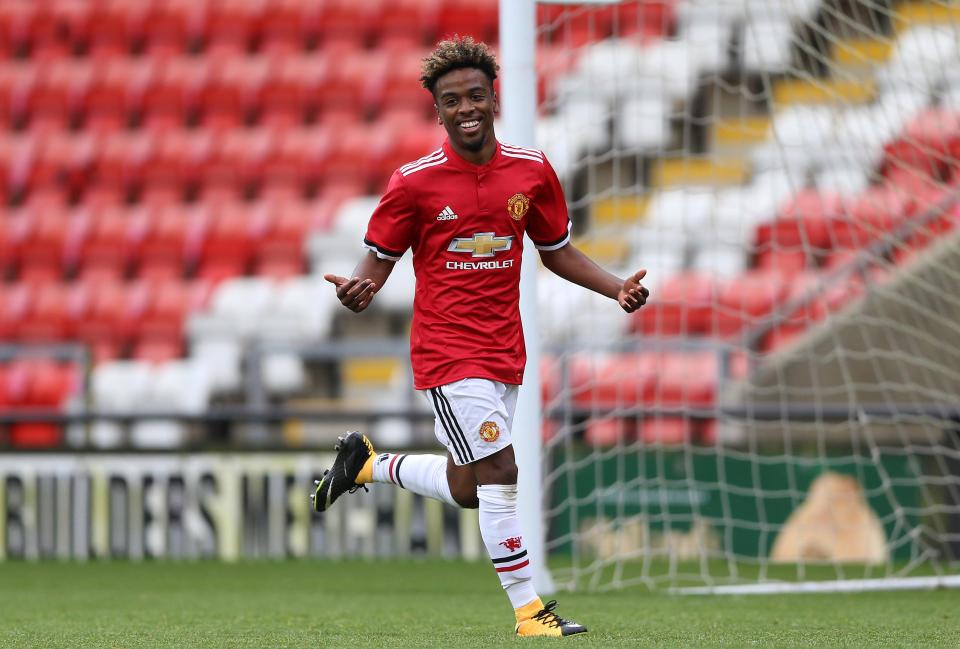 Angel Gomes is on his way out
