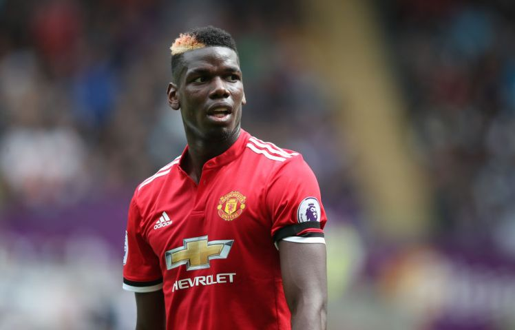Paul Pogba struggled against Arsenal