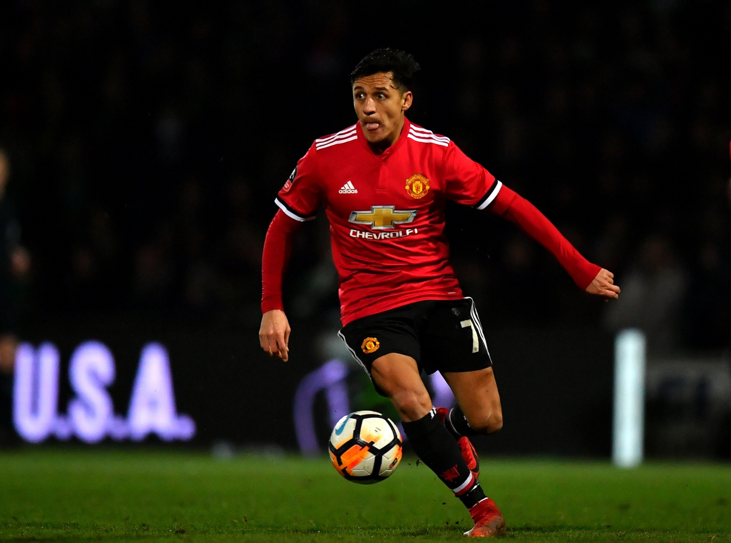 Alexis Sanchez has refused to take a pay cut at United