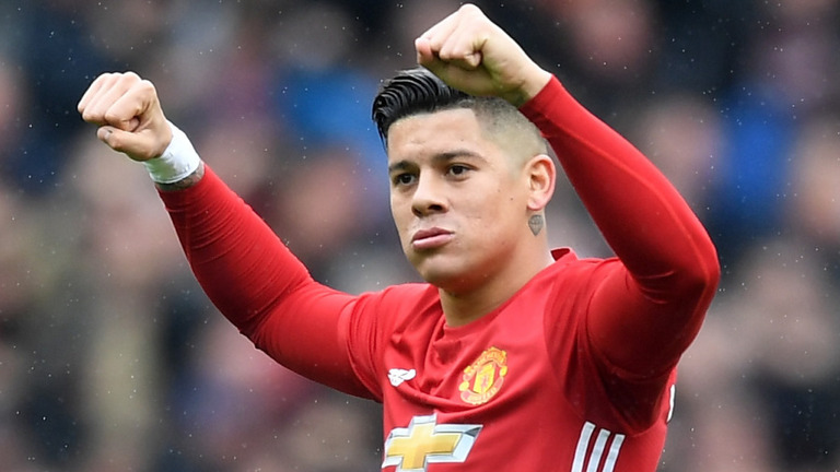 Marcos Rojo of Manchester United