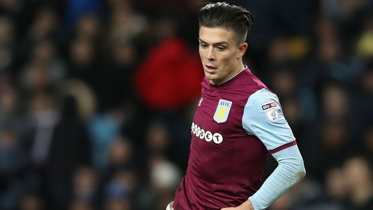 Jack Grealish is a Manchester United target
