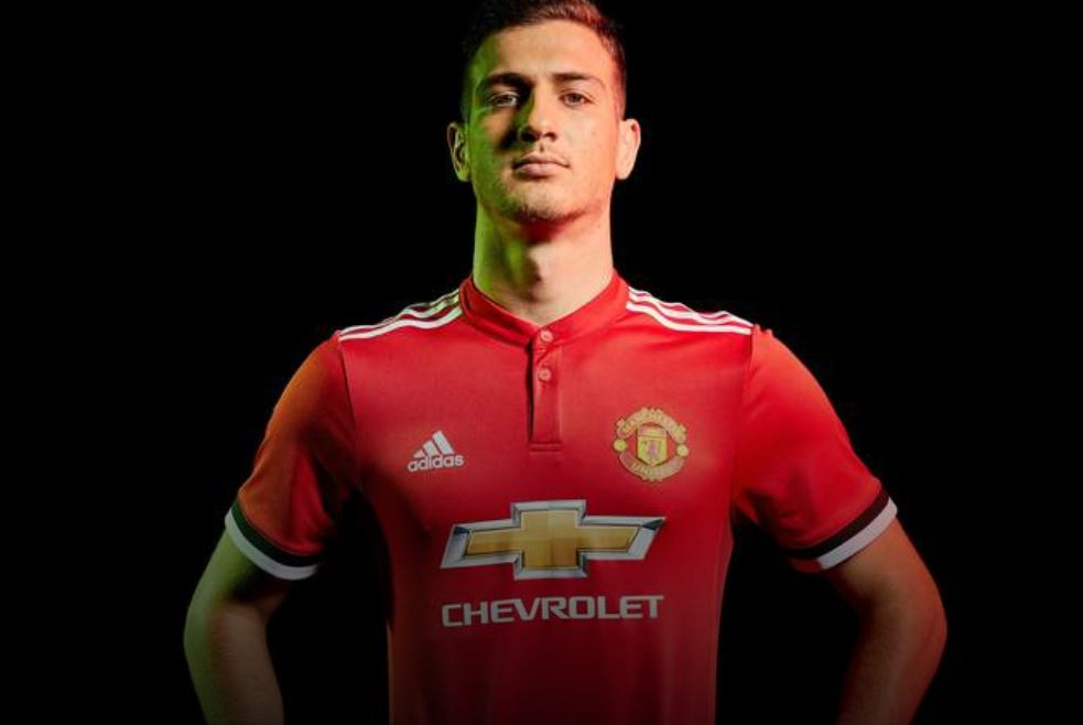 Diogo Dalot signed for Manchester United in 2018