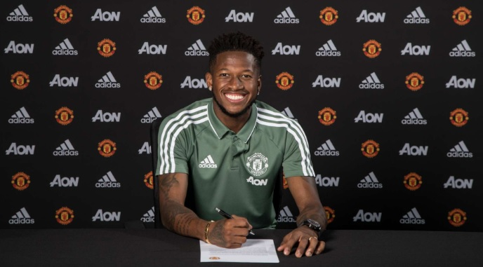 Fred signed for United in 2018
