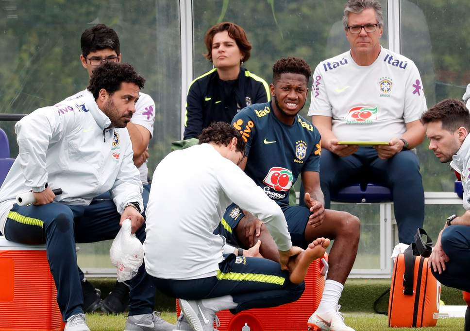 Fred injury update as midfielder is left out of Brazil clash