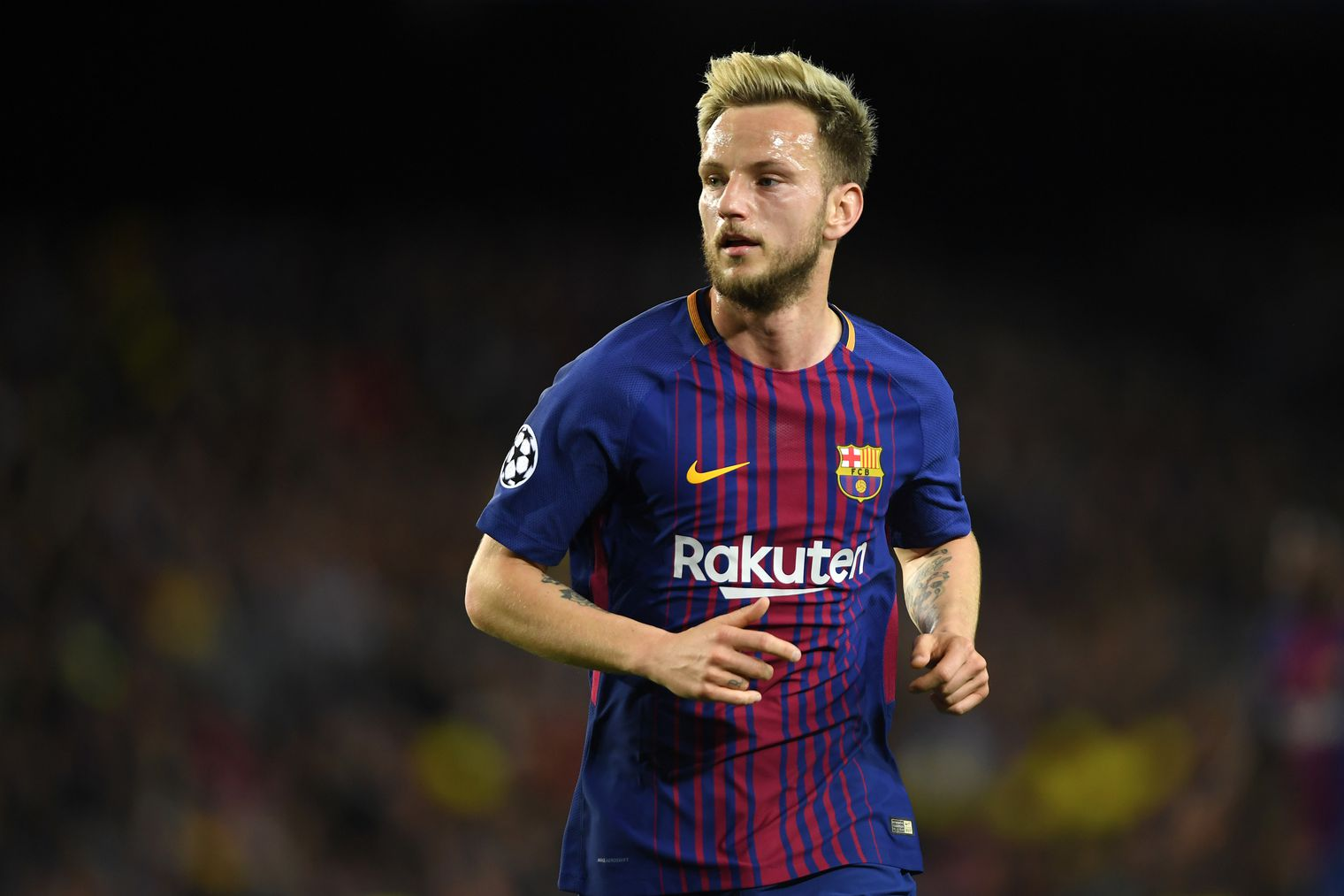Ivan Rakitic joined Barcelona from Sevilla