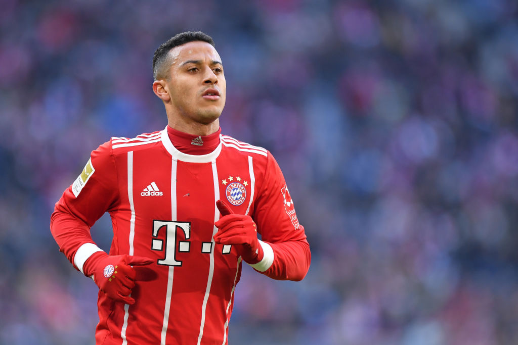 Thiago Alcantara could be on his way out of Bayern Munich