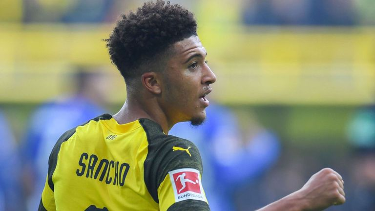Jadon Sancho is a target for Manchester United