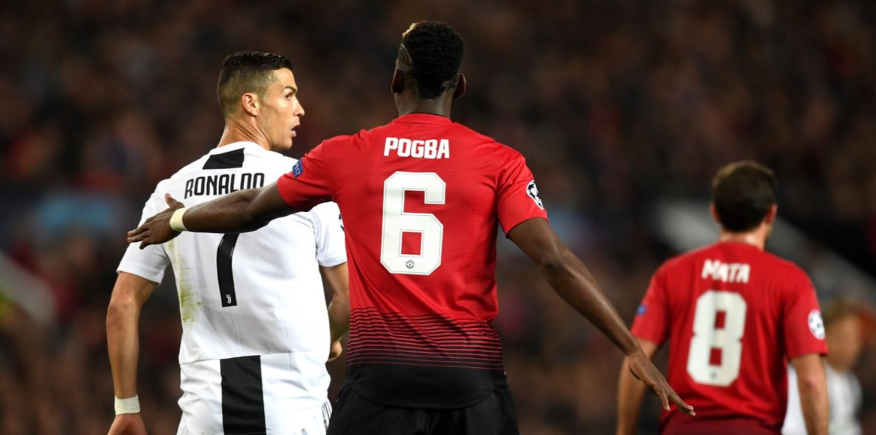 Paul Pogba Cristiano Ronaldo Manchester United Real Madrid