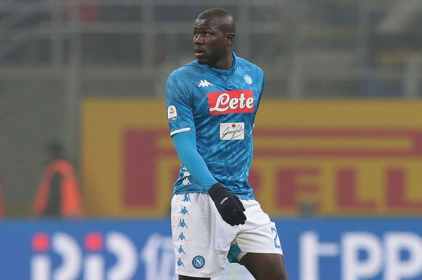 Kalidou Koulibaly heads United's list