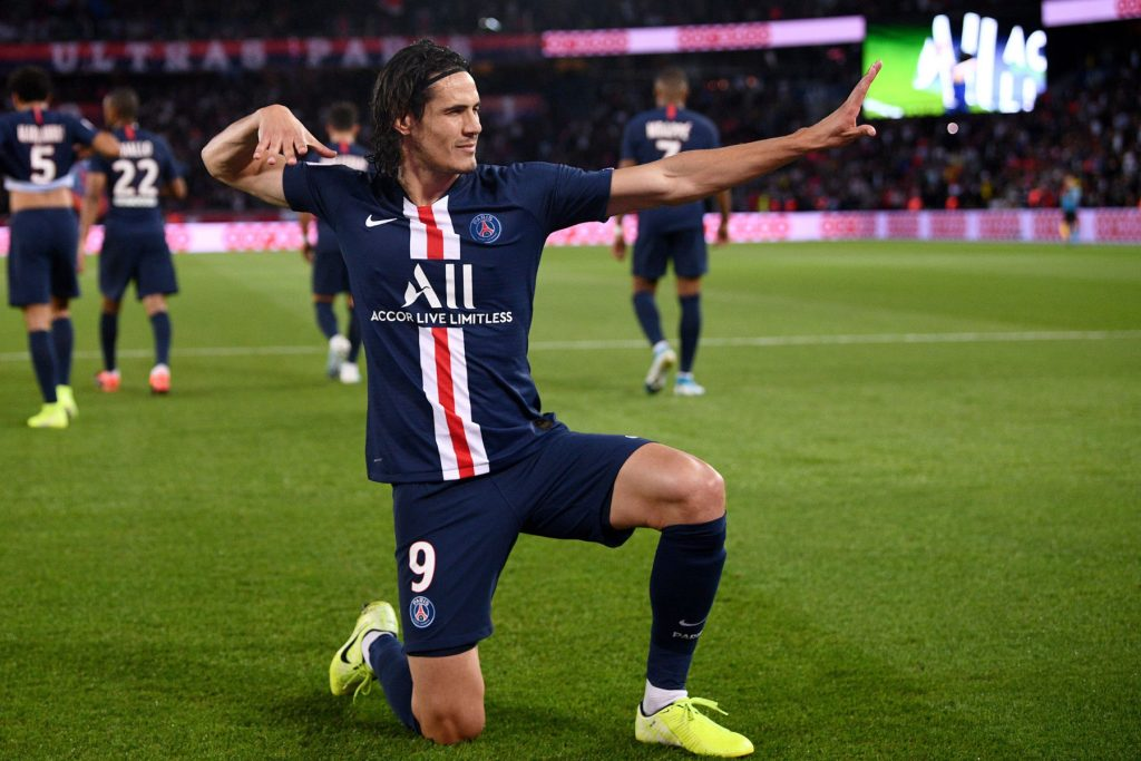 Cavani is one of the era's top strikers