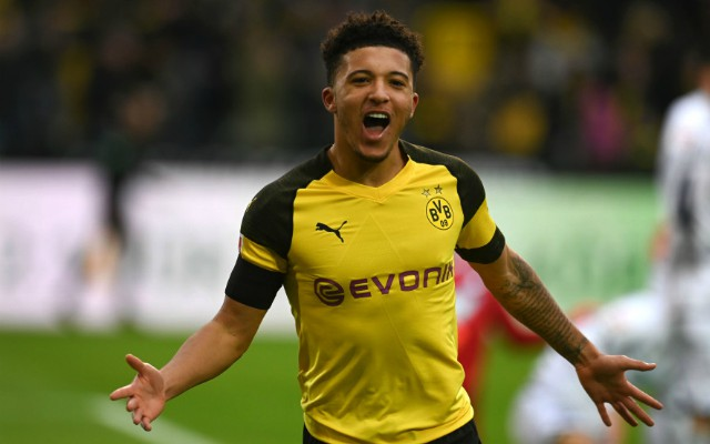 Manchester United could lose out on Jadon Sancho to Manchester City