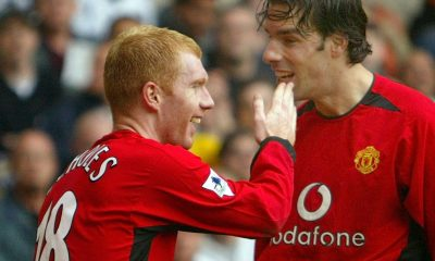 Waune Rooney has praised Manchester United legend Paul Scholes