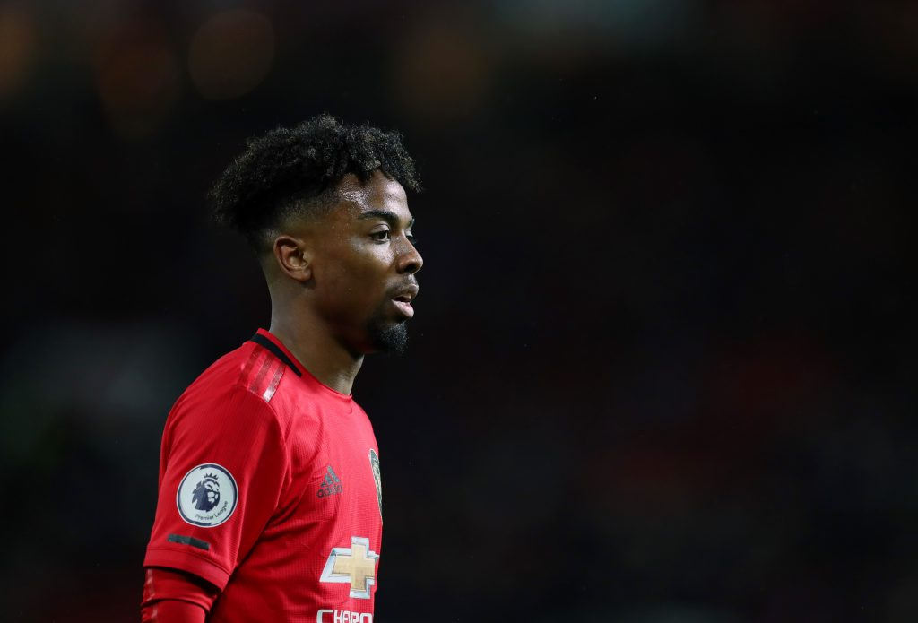 Angel Gomes has only played six times for us this season