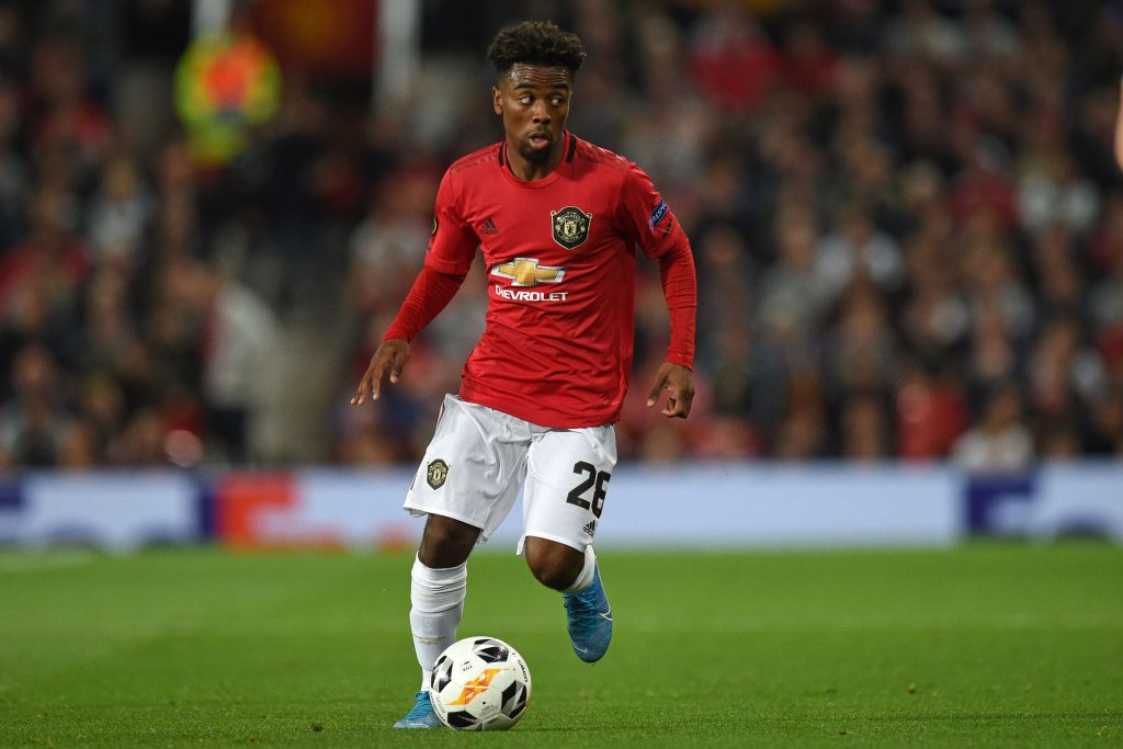 Angel Gomes looks set to leave Manchester United