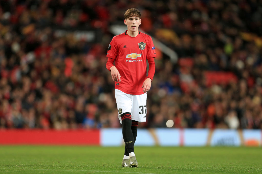 Manchester United starlet James Garner has opened up on his long term prospects.