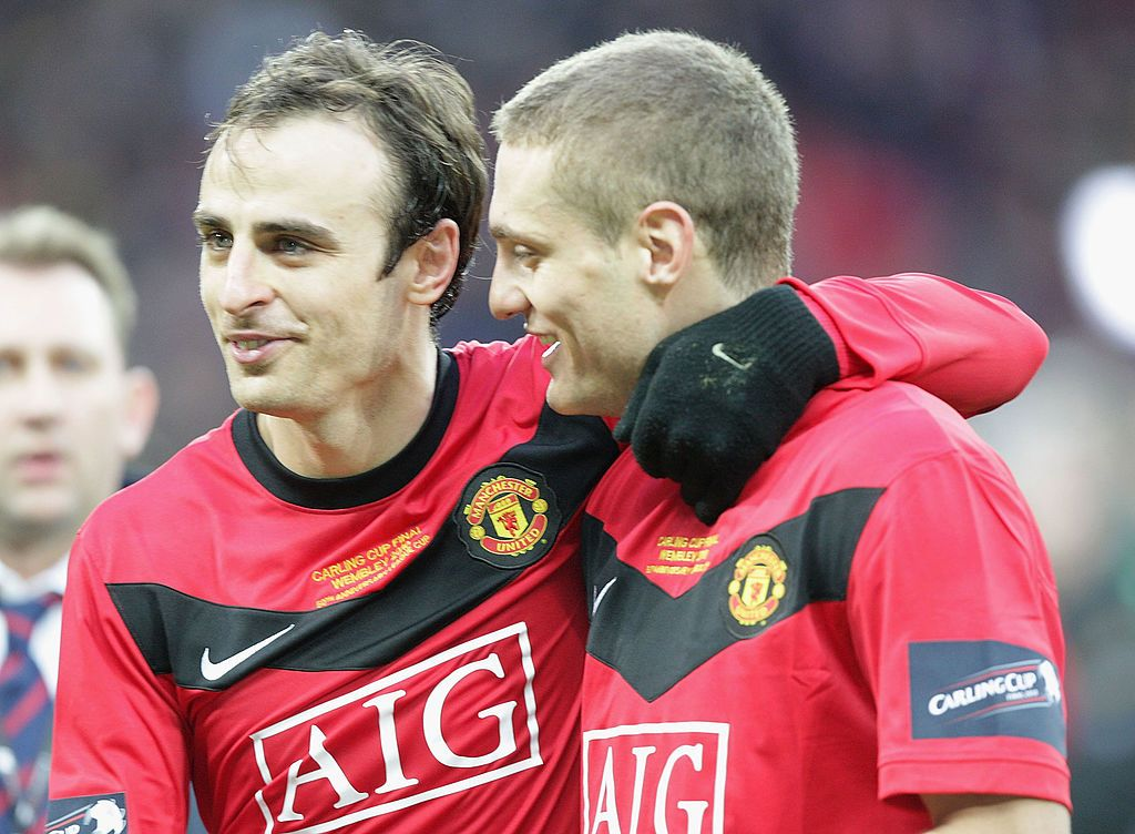 Dimitar Berbatov and Nemanja Vidic played together for four years