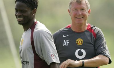Louis Saha Sir Alex Ferguson