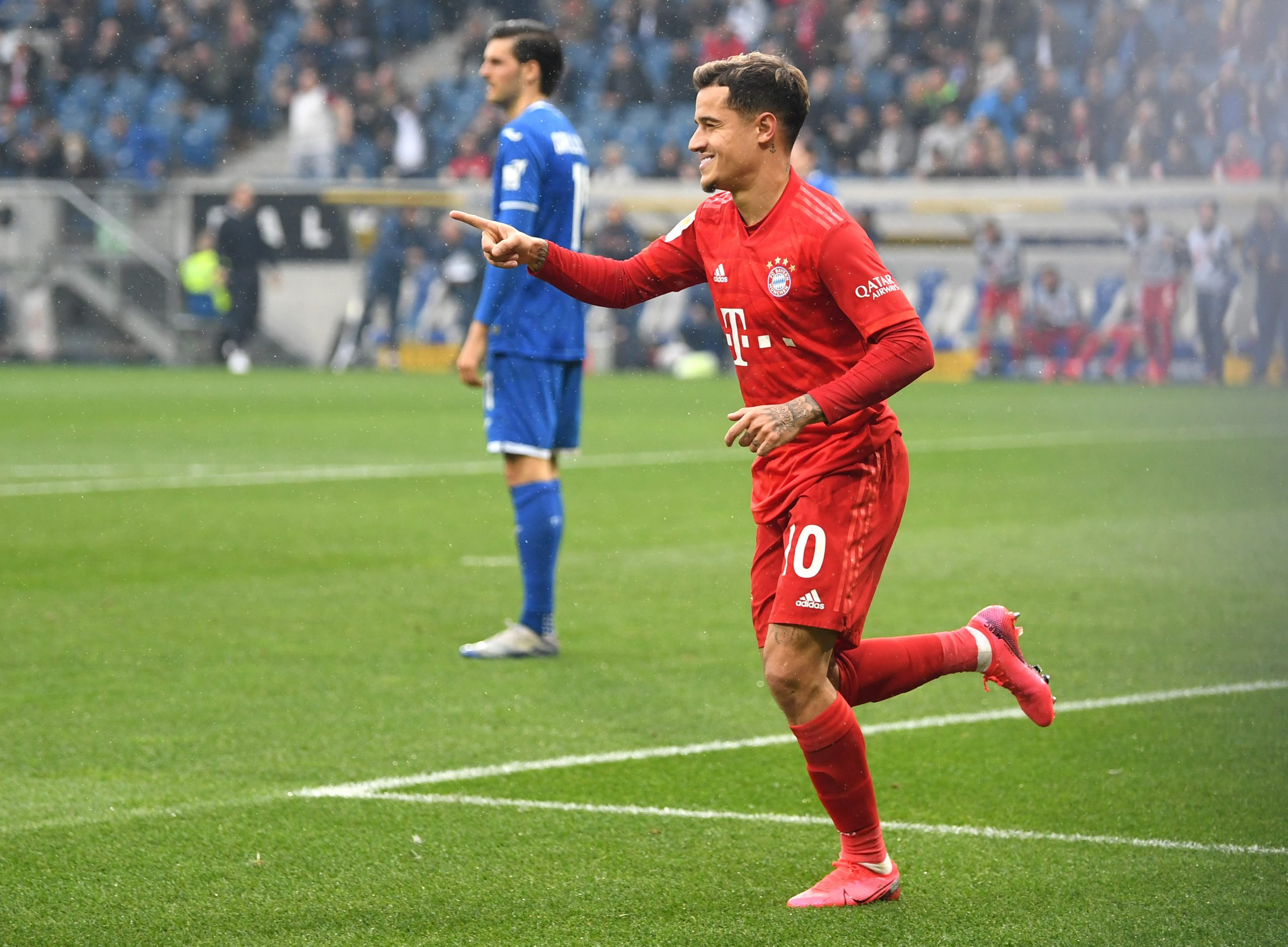 Philippe Coutinho joined Bayern Munich on-loan from Barcelona