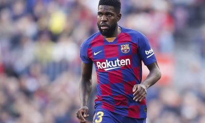 Samuel Umtiti joined Barcelona from Lyon