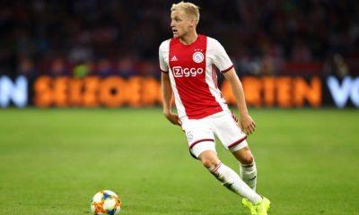 Van de Beek has been in top form for Ajax for the past two years
