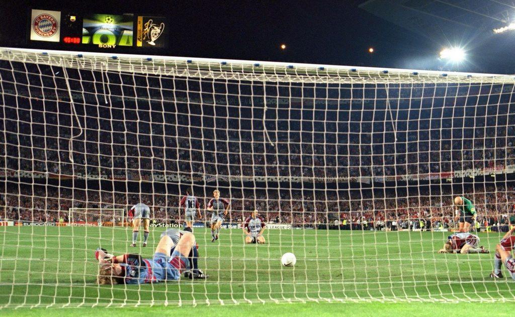Manchester United vs Bayern Munich