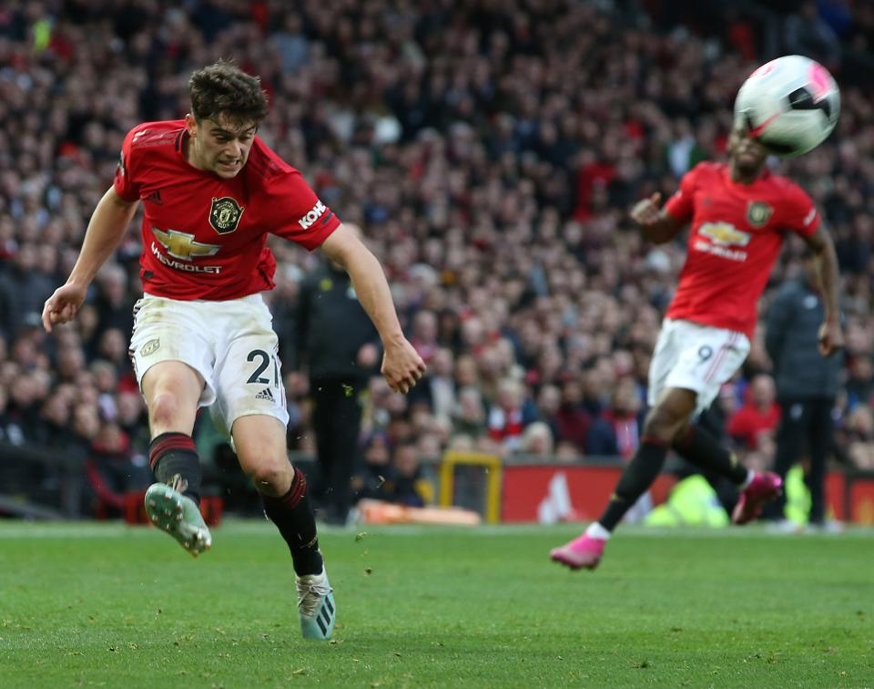 Daniel James has made a fine start to life at Manchester United